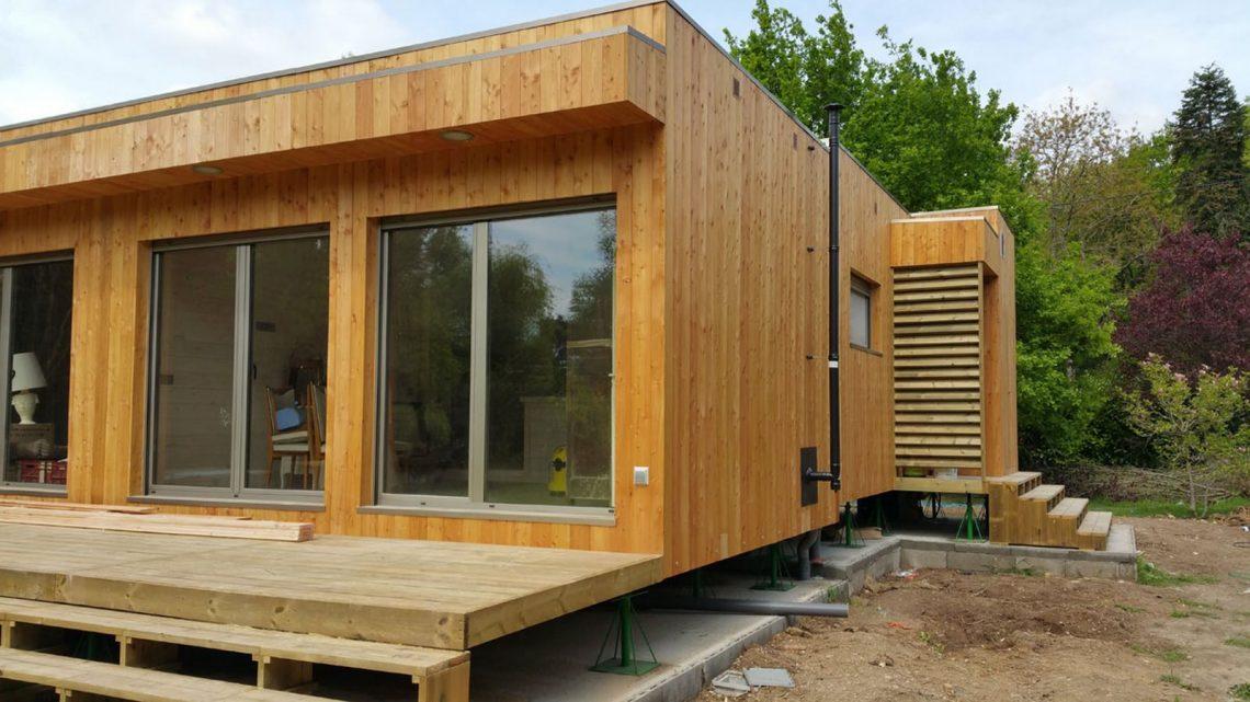 construction d'une maison en bois bbc