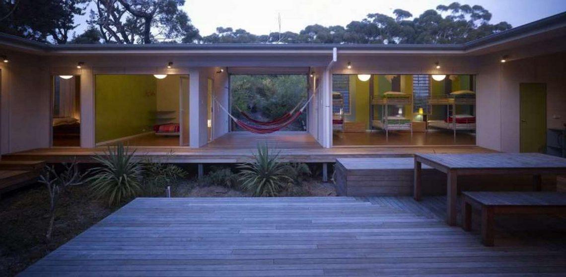 superbe maison en bois d'un architecte