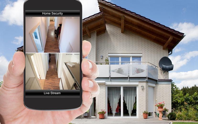 caméra connecté home sécurité
