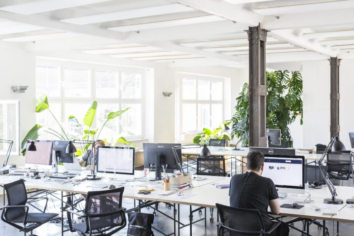 bureaux open space classe