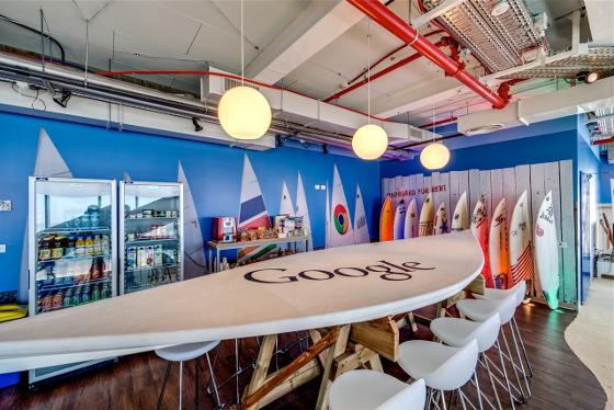 bureaux google de tel aviv